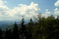 widok na Tatry z Przehyby
