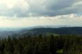 panorama z Wieży widokowej w stronę Przehyby