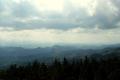 panorama z Wieży widokowej w stronę Pienin