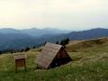 wiata na przełęczy w Płoskiej