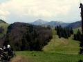 spod schroniska na Sopron, Rakytov i Kračkov