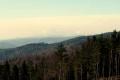 panorama Tatr ze szlaku na Runek