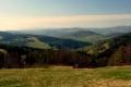 pejzaż Beskidu Sądeckiego z Tatrami