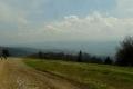 widok ze szlaku z Radhosta na Radegasta