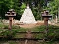 cmentarz wojenny na szczycie Magury