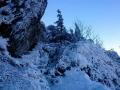 zimowe podejście na Wielkiego Rozsutca