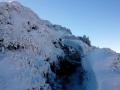 zimowy szlak na szczyt