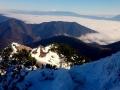 w stronę Tatr i Gór Choczańskich ze szczytu