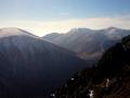 panorama Małej Fatry od Stoha po Chleb