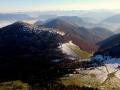 przełęcz Medziholie w dole