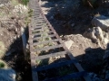 drabinki w drodze na przełęcz