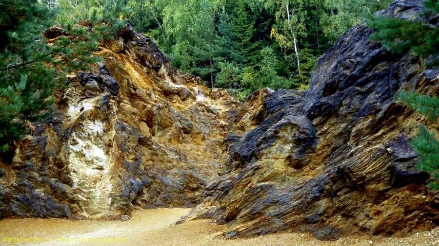 skały wyrobiska