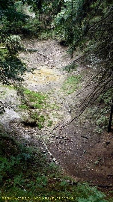 wyrobisko kopalni