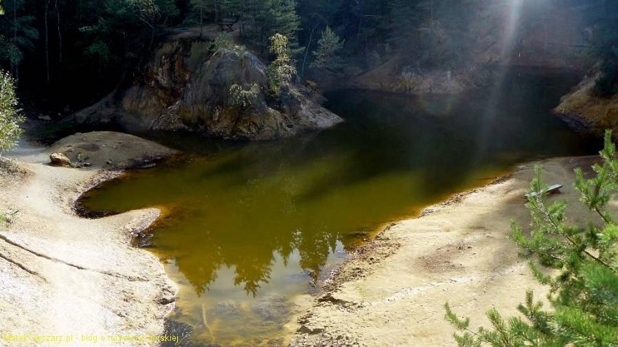 widoczek na Purpurowe Jeziorko