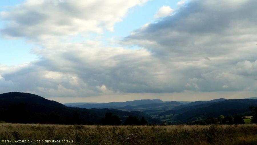 widok z Przełęczy Rędzinskiej