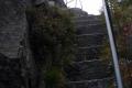 schodki na skałę Mała Ostra