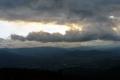 pejzaż po zachodzie słońca