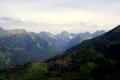 panorama z Gęsiej Szyi na Tatry Wysokie