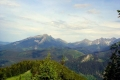przełęcz pod Kopą w środku rozdziela Tatry Bielskie i Wysokie