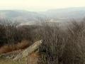widok z Simonki na wieś Zlata Bana