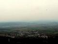 panorama Presova z ruin Zbójnickiego zamku