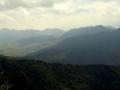 panorama na Wielkiego Chocza po lewej