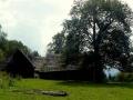 stare chaty na polanie Podsip