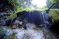 Machowy wodospad