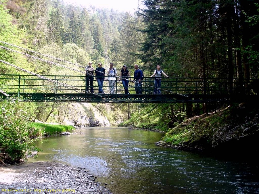 most nad przełomami Hornadu