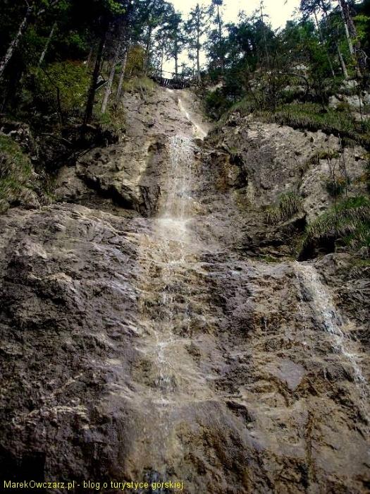 Zawojowy wodospad