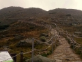 odnowiony szlak na szczyt
