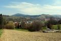 spojrzenie na Mszanę Dolną ze zboczy Szczebla