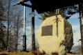 pomnik poświęcony Janowi Pawłowi II na Szczeblu