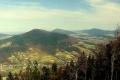Lubogoszcz, Śnieżnica, Ćwilin i Mogielica widziana ze Szczebla