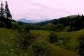 krajobraz z Tatrami