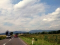 panorama Gór Strażowskich