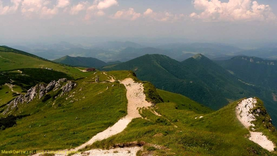 panorama Snilowskiej przełęczy