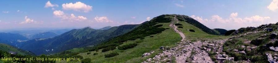panorama ze Snilowskiej przełęczy