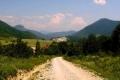 widok w stronę gór Choczańskich
