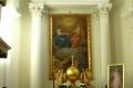 wnętrze sanktuarium Św.Krzyża