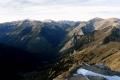 Dolina Cicha i Tomanowa Przełęcz w środku