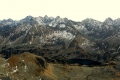 panorama Tatr Wysokich ze Świnicy