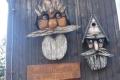 budki dla ptaków przy schronisku Kamieńczyka