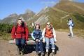 rodzinnie na Wyżniej przełęczy pod Kopą