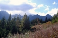 chmurzy się nad wysokimi Tatrami