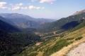 widok z przełęczy na dolinę Zadnich Koperszadów