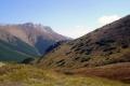 widok z przełęczy w stronę Jatek i Przednich Koperszadów