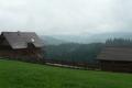 mglista panorama z Jaworzynki