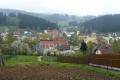 panorama wsi Cierne na Słowacji