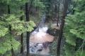 górski potok po ulewie